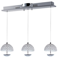ET2 E24493-20PC Parasol LED 26 inch Polished Chrome Pendant Ceiling Light