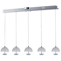 ET2 E24495-20PC Parasol LED 6 inch Polished Chrome Pendant Ceiling Light