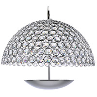 ET2 E24497-20PC Parasol LED 16 inch Polished Chrome Pendant Ceiling Light