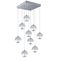 Parasol LED 20 inch Polished Chrome Pendant Ceiling Light