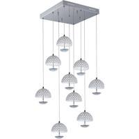 ET2 E24499-20PC Parasol LED 20 inch Polished Chrome Pendant Ceiling Light