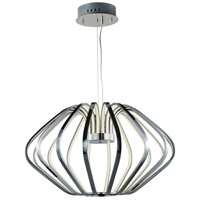 Argent LED 34 inch Polished Chrome Single Pendant Ceiling Light