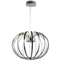Argent LED 22 inch Polished Chrome Single Pendant Ceiling Light