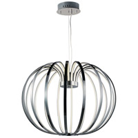 ET2 E24524-PC Argent LED 28 inch Polished Chrome Single Pendant Ceiling Light