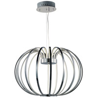 ET2 E24526-PC Argent LED 34 inch Polished Chrome Single Pendant Ceiling Light