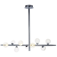 ET2 E24571-91PC Bubbly LED 10 inch Polished Chrome Single Pendant Ceiling Light