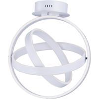 ET2 E24580-MW Gyro LED LED 18 inch Matte White Flush Mount Ceiling Light