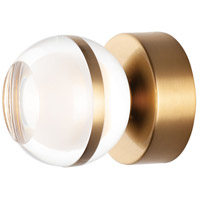 ET2 E24590-93NAB Swank LED 5 inch Natural Aged Brass Wall Sconce Wall Light