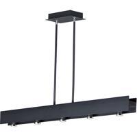ET2 E24634-BKPC Beam LED LED 44 inch Black and Polished Chrome Linear Pendant Ceiling Light