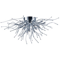 ET2 E24670-PC Orion LED LED 27 inch Polished Chrome Flush Mount Ceiling Light photo thumbnail