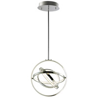 ET2 E24783-PC Gyro II LED 16 inch Polished Chrome Single Pendant Ceiling Light