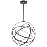 ET2 E24785-BK Gyro II LED 32 inch Black Single Pendant Ceiling Light
