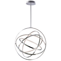 ET2 E24785-PC Gyro II LED 32 inch Polished Chrome Single Pendant Ceiling Light