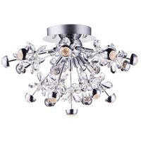 ET2 E24791-20PC Nova LED 22 inch Polished Chrome Flush Mount Ceiling Light