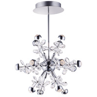 Supernova LED 19 inch Polished Chrome Single Pendant Ceiling Light