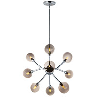 ET2 E24822-138PC Asteroid LED 28 inch Polished Chrome Multi-Light Pendant Ceiling Light