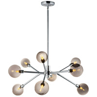 ET2 E24823-138PC Asteroid LED 31 inch Polished Chrome Multi-Light Pendant Ceiling Light