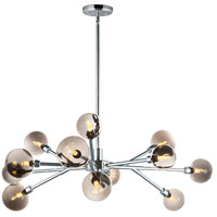 ET2 E24826-138PC Asteroid LED 42 inch Polished Chrome Multi-Light Pendant Ceiling Light