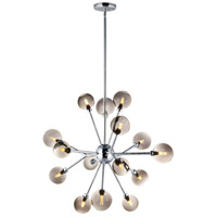ET2 E24828-138PC Asteroid LED 31 inch Polished Chrome Multi-Light Pendant Ceiling Light