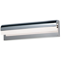 ET2 E24842-90PC Waterfall LED 18 inch Polished Chrome Bath Vanity Wall Light