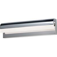 ET2 E24842-90PC Waterfall LED 18 inch Polished Chrome Bath Vanity Wall Light