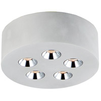 ET2 E25010-GY Peg LED 7 inch Gray Flush Mount Ceiling Light