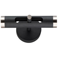 ET2 E25040-BKSN Ambit LED 5 inch Black and Satin Nickel Wall Sconce Wall Light