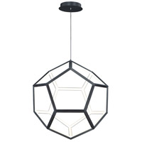 ET2 E25104-BK Penta LED 22 inch Black Pendant System Ceiling Light