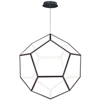 ET2 E25108-BK Penta LED 40 inch Black Single Pendant Ceiling Light