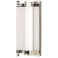 ET2 E25120-01BKPN Reflect 2 Light 12 inch Black and Polished Nickel Bath Vanity Light Wall Light