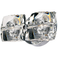 ET2 E30502-20 Neo 2 Light 9 inch Polished Chrome Wall Sconce Wall Light