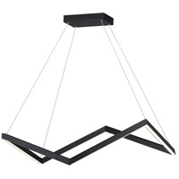 ET2 E30576-BK Stealth LED 35 inch Black Linear Pendant Ceiling Light