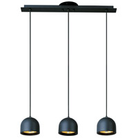 ET2 Brahma 3 Light Island Pendant in Black E30603-02