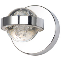 ET2 E30611-91PC Cosmo LED 5 inch Polished Chrome Wall Sconce Wall Light