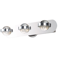 Chrome Steel Cosmo Bathroom Vanity Lights