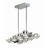 Cosmo LED 30 inch Polished Chrome Linear Pendant Ceiling Light