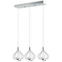 ET2 E30622-PC Tilt LED 28 inch Polished Chrome Single Pendant Ceiling Light