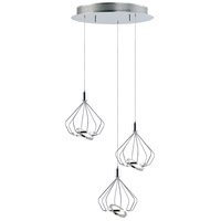 ET2 E30623-PC Tilt LED 18 inch Polished Chrome Multi-Light Pendant Ceiling Light
