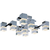 ET2 Nova 9 Light LED Flush Mount in Polished Chrome E31200-75PC