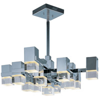Nova LED 32 inch Polished Chrome Single Pendant Ceiling Light