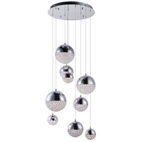 ET2 E31229-20PC Eclipse LED 24 inch Polished Chrome Multi-Light Pendant Ceiling Light