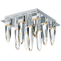 ET2 E31249-20PC Quartz LED 18 inch Polished Chrome Flush Mount Ceiling Light