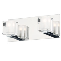 ET2 E32032-18PC Blocs LED LED 12 inch Polished Chrome Wall Sconce Wall Light