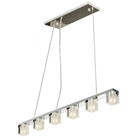 Blocs LED LED 36 inch Polished Chrome Linear Pendant Ceiling Light