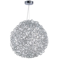 ET2 E32574-PC Dazed LED 24 inch Polished Chrome Single Pendant Ceiling Light