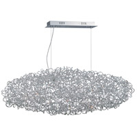 ET2 E32578-PC Dazed LED 20 inch Polished Chrome Single Pendant Ceiling Light