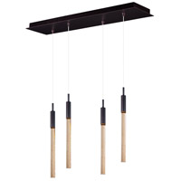 ET2 E32774-118BRZ Scepter LED 25 inch Anodized Bronze Linear Pendant Ceiling Light