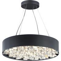 ET2 E32787-BKAL Pipes 26 Light 30 inch Black and Brushed Aluminum Multi-Light Pendant Ceiling Light