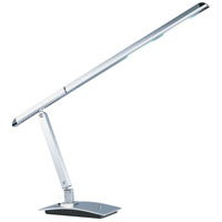 ET2 Eco-Task 1 Light Table Lamp in Satin Aluminum E41035-SA