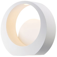 ET2 White Glass Outdoor Wall Lights